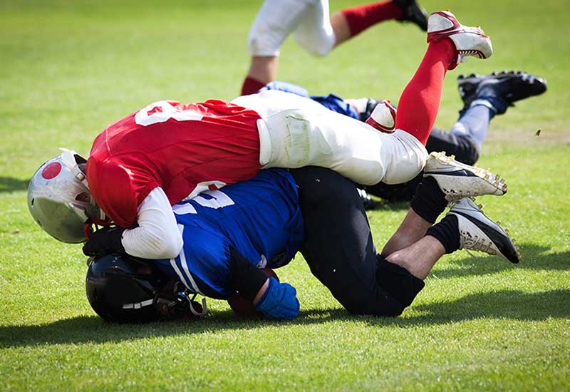 Concussion Dangers in High School Football Games