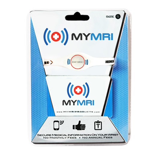 MyMRI Retail Pack Wristband